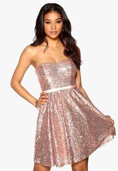 Model Behaviour Ellen Dress Rose gold Bubbleroom.se