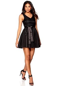 Model Behaviour Emilia Dress Black Bubbleroom.se