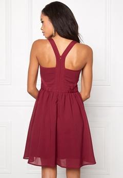 Model Behaviour Kajsa Dress Wine-red Bubbleroom.se