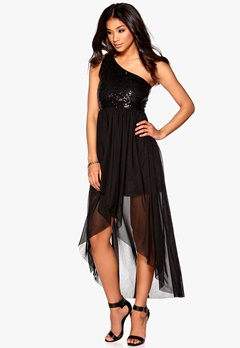 Model Behaviour Maria Maxi Dress Black Bubbleroom.se
