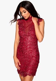 Model Behaviour Olivia Dress Red Bubbleroom.se