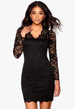 Model Behaviour Simone Dress Black Bubbleroom.se