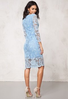 Model Behaviour Tuva Dress Light Blue Bubbleroom.se