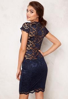 Model Behaviour Vera Dress Midnight blue Bubbleroom.se