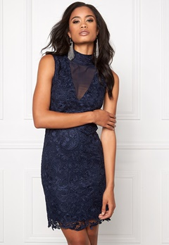 Model Behaviour Viola Dress Midnight blue Bubbleroom.se