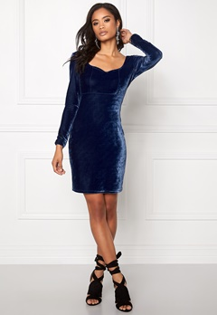 Model Behaviour Violette Dress Midnight blue Bubbleroom.no