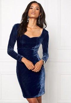 Model Behaviour Violette Dress Midnight blue Bubbleroom.se
