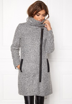 OBJECT Naomi Willa Jacket Black/grey Bubbleroom.se