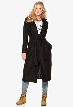 Neo Noir Watt Coat 100 Black Bubbleroom.se