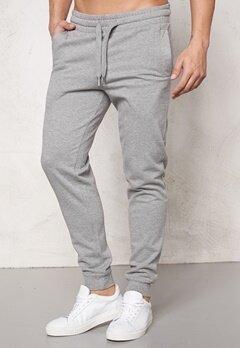 ONLY & SONS Niel Sweat Pants Light Grey Melange Bubbleroom.se