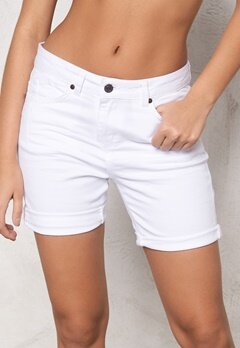 OBJECT Ally Canvas Shorts White Bubbleroom.se
