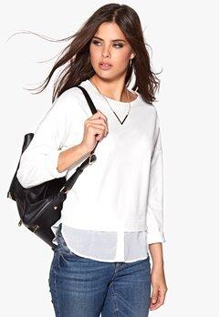 OBJECT Amanda L/S Pullover Egret Bubbleroom.se