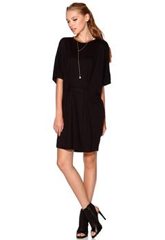 OBJECT Billie S/S Dress Black Bubbleroom.se