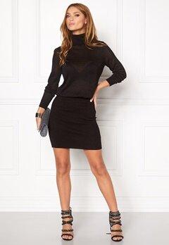 OBJECT Brooklyn l/s knit dress Black Bubbleroom.se