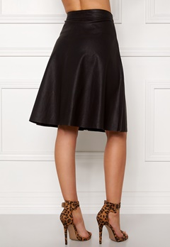 OBJECT Cupa mw faux skirt Black Bubbleroom.se