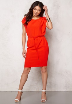 OBJECT Dallas s/s Knee Dress Grenadine Bubbleroom.se