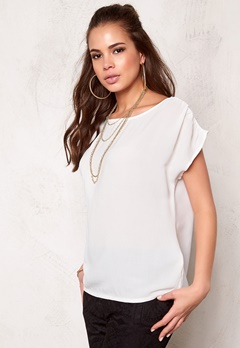 OBJECT Dallas s/s Top Egret Bubbleroom.se