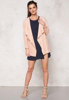 OBJECT Ella L/S Jacket Pink Champagne Bubbleroom.se