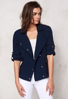 OBJECT Emma Short Blazer Sky Captain Bubbleroom.se