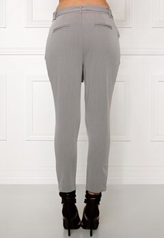 OBJECT Lei mw ancle pant Medium grey melange Bubbleroom.se
