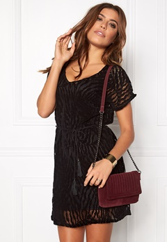OBJECT Lilly s/s dress Black Bubbleroom.se