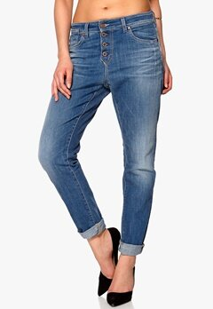 OBJECT Linda Boyfriend Jeans 418 Medium Blue Denim Bubbleroom.se