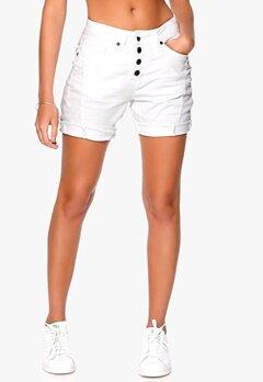 OBJECT Linda Canvas Shorts White Bubbleroom.se