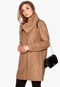 OBJECT Maris Coat Camel Bubbleroom.se