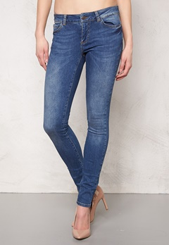 OBJECT Skinny Sally Jeans Medium Blue Denim Bubbleroom.se