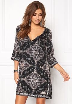 Odd Molly Afternoon Delight Dress Almost Black Bubbleroom.fi
