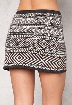 Odd Molly Belleviw Skirt Dark Grey Bubbleroom.se