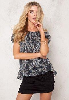 Odd Molly Caribou s/s blouse Asphalt Bubbleroom.se