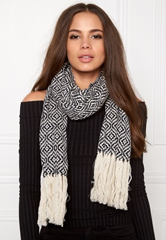 Odd Molly Girl power scarf Dark navy Bubbleroom.se