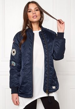 Odd Molly Love Bomber Jacket Dark Navy Bubbleroom.se