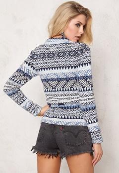 Odd Molly Lovely knit Blue Bubbleroom.se