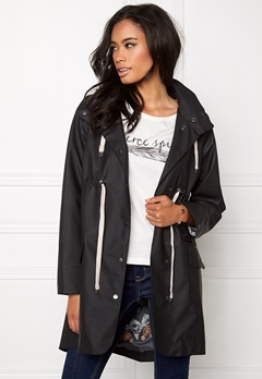 Odd Molly Monsoon rainjacket Almost black Bubbleroom.se