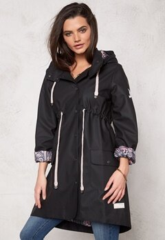 Odd Molly Monsoon Rainjacket Black Bubbleroom.se