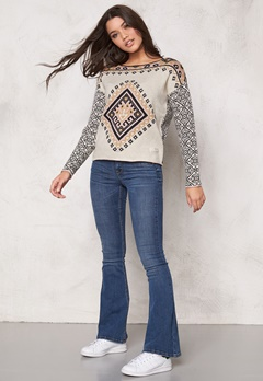 Odd Molly Palisades Sweater Chalk Bubbleroom.se