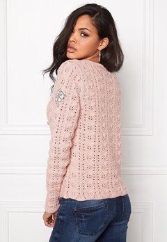 Odd Molly Stunning Cardigan Milky Pink Bubbleroom.se