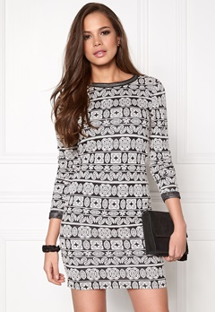 ONLY Olympus L/S Dress Black Bubbleroom.se