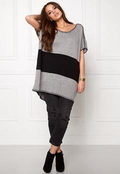 One teaspoon Moonstone knit dress Grey marle Bubbleroom.se