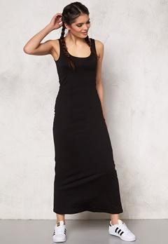 ONLY Abbie sl long dress noos Black Bubbleroom.se