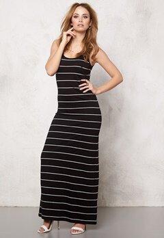 ONLY Abbie stripe sl long noos Black/wide Bubbleroom.se