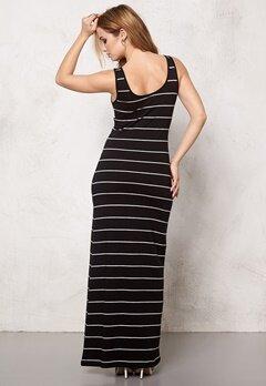 ONLY Abbie stripe sl long noos Black Bubbleroom.se