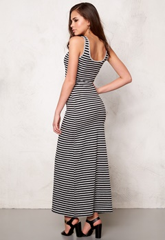 ONLY Abbie stripe sl long Black/black Bubbleroom.se