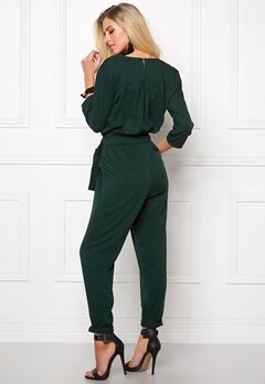 ONLY Arianna 3/4 Jumpsuit Scarab Bubbleroom.se