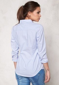 ONLY Cici LS Oxford Shirt Blue Bell Bubbleroom.se
