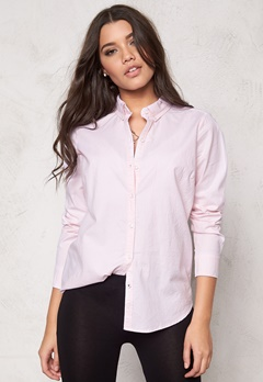 ONLY Cici LS Oxford Shirt noos Pearl Blush Bubbleroom.se
