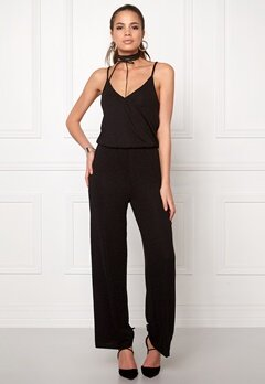 ONLY Cicilia S/L Jumpsuit Black Bubbleroom.se