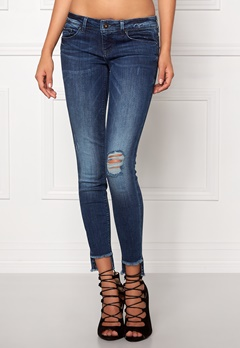 ONLY Coral Ankel Jeans Medium Blue Denim Bubbleroom.se
